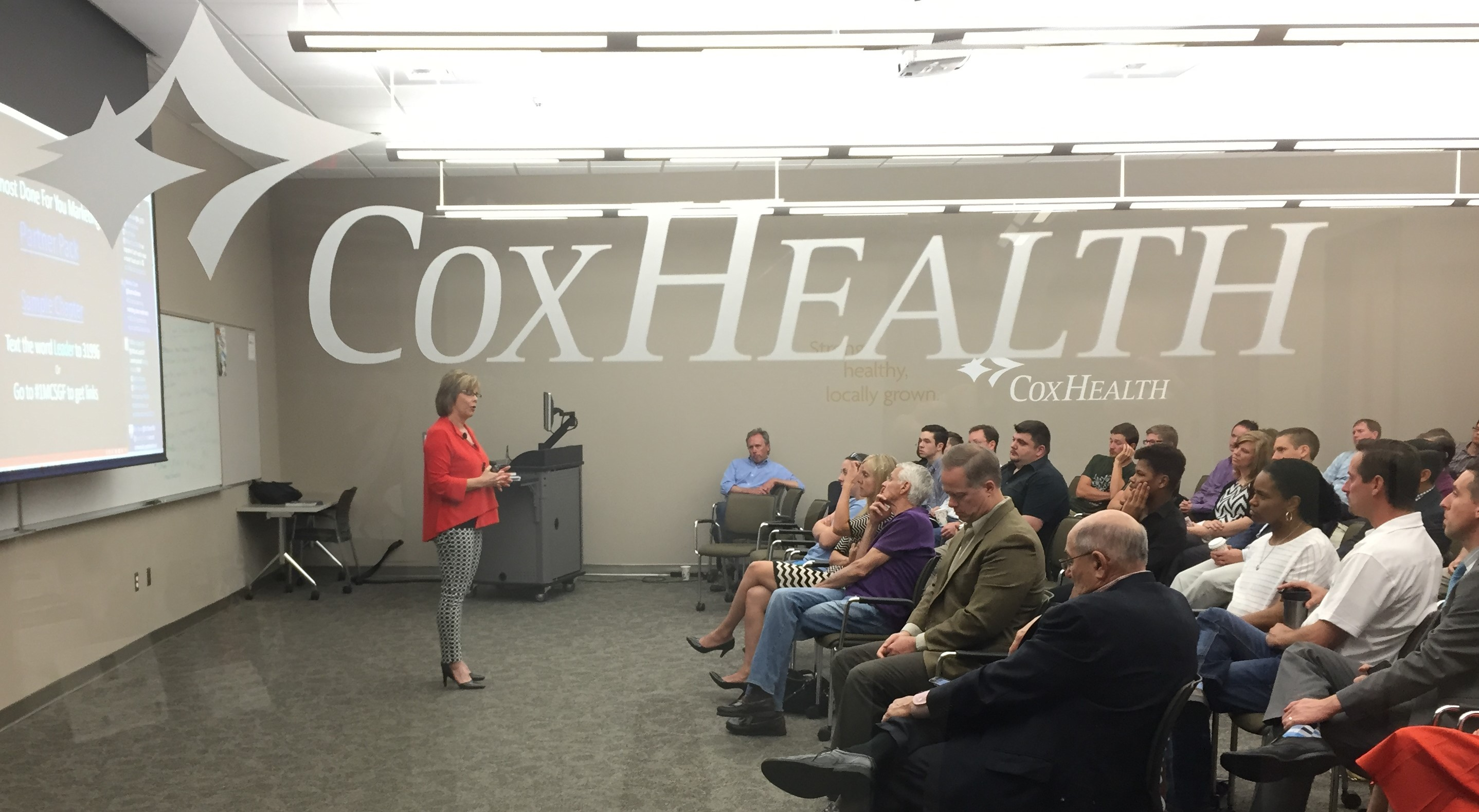 Dedication of the CoxHealth Innovation Room
