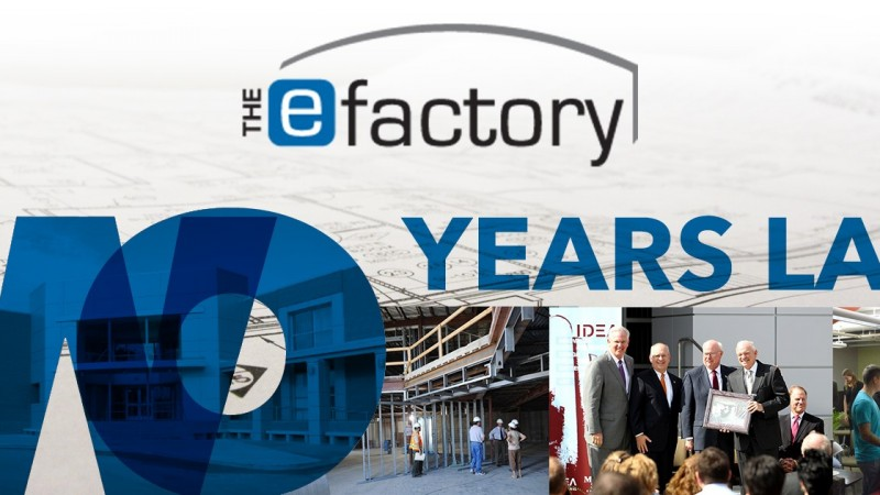 The eFactory Celebrates Success and Second Birthday at First Friday Art Walk