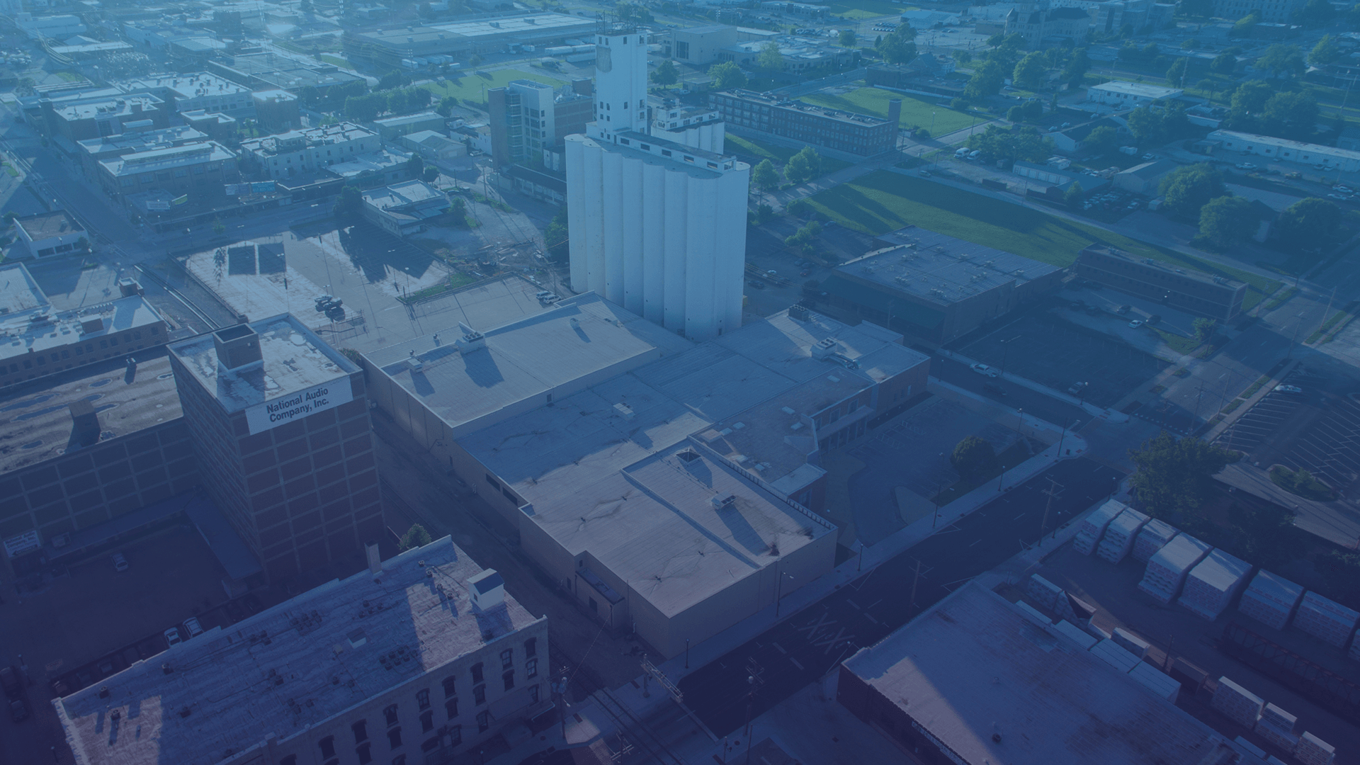 Aerial view of the efactory in Springfield,MO