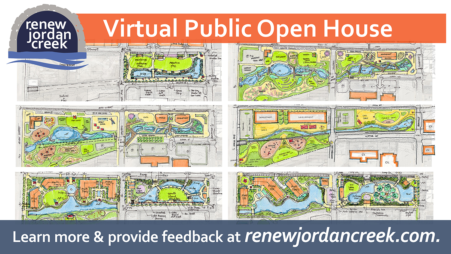 City of Springfield Hosts Virtual Open House for Renew Jordan Creek
